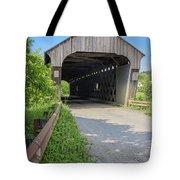 Willard Covered Bridge North Hartland Vermont Tote Bag