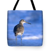 Willet In The Water Tote Bag