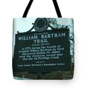 William Bartram Tote Bag