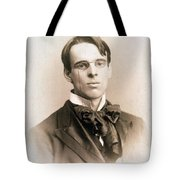 William Butler Yeats (1865-1939) Tote Bag