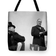 William Mckinley Making His Inaugural Address Tote Bag by War Is Hell Store
