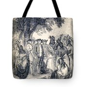 William Penns Treaty With The Indians Tote Bag