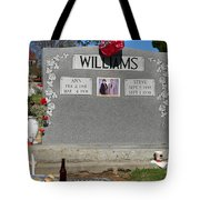 Williams Grave Tote Bag