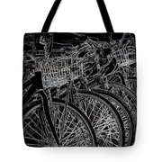 Williamsburg Bikes Tote Bag