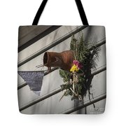 Williamsburg Bird Bottle 1 Tote Bag by Teresa Mucha
