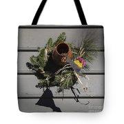 Williamsburg Bird Bottle 2 Tote Bag by Teresa Mucha