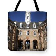 Williamsburg Capitol Tote Bag