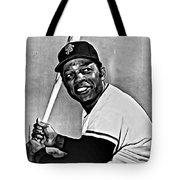 Willie Mays Painting Tote Bag