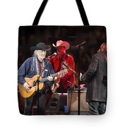 Willie Nelson - Live In Austin Tote Bag