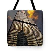 Willis Sears Tower Tote Bag