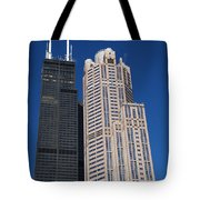 Willis Tower Chicago Tote Bag