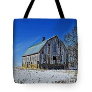 Willow Barn Painting Tote Bag