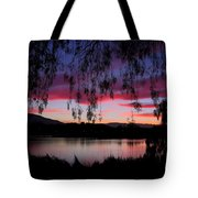 Willow Silhouette Tote Bag