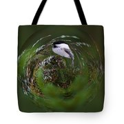 Willow Tit Ball Tote Bag