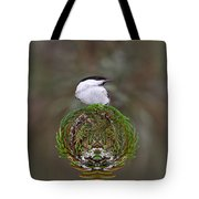 Willow Tits Planet Tote Bag