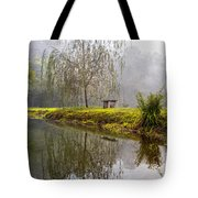 Willow Tree At The Pond Tote Bag