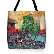 Willow Tree Isle Tote Bag