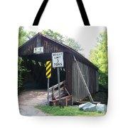 Willowemoc Covered Bridge Tote Bag