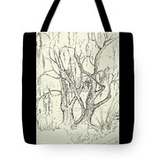 Willows By The Lake Tote Bag