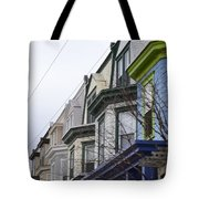 Wilmington Houses Tote Bag