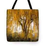 Willow Yellow Rain  Tote Bag