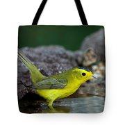 Wilsons Warbler Wilsonia Pusilla Tote Bag