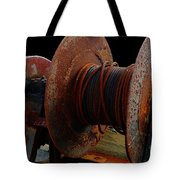 Winch - Cable - Crank - Boats Tote Bag