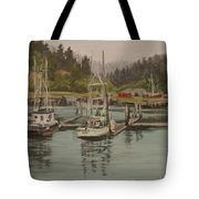 Winchester Bay Tote Bag