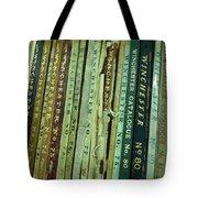 Winchester Catalogs Tote Bag