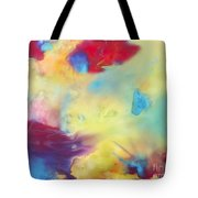 Wind Abstract Painting Tote Bag