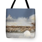 Wind And Ice Tote Bag
