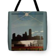 Wind And Spirit In Boston Tote Bag