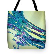 Wind And Water Tote Bag