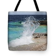 Wind And Waves Tote Bag