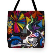 Wind Art Tote Bag