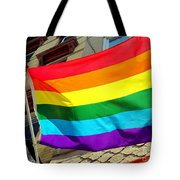 Wind Blown Pride Tote Bag