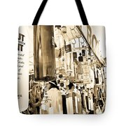 Wind Chime Beige Version Tote Bag