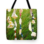Wind Chimes At The Beach Tote Bag