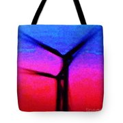 Wind Energy Abstract Tote Bag