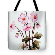 Wind Flowers Tote Bag