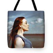 Wind In Her Hair Tote Bag by Craig B