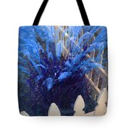 Wind In The Grass - Blue Tote Bag
