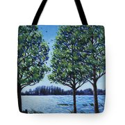 Wind In The Trees Tote Bag