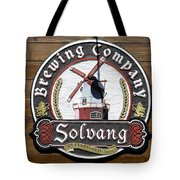 Wind Mill Brewery Sign Tote Bag