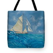 Wind On The Water Tote Bag