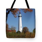 Wind Point Lighthouse 74 Tote Bag