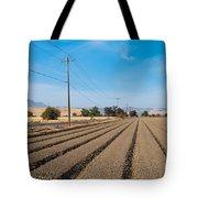 Wind Rows Farm Tote Bag
