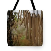 Wind Song - 3 Tote Bag by Linda Shafer
