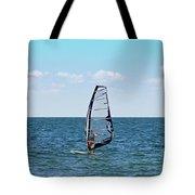 Wind Surfer Tote Bag