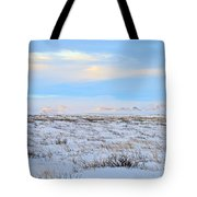 Wind Swept Plains Of Iceland Tote Bag
